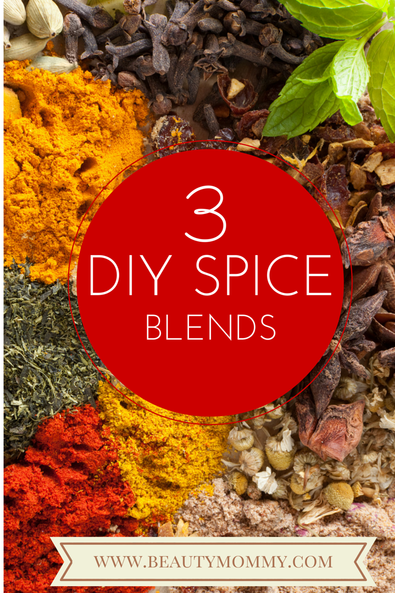 3 simple spice blends