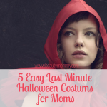 5 Easy Last Minute Halloween Costumes for Moms