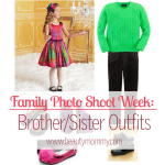 Family Photo Shoot Week: Brother/Sister Outfits