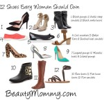 12 Shoes Every Woman Should Own: 30 Days to Gorgeous Mom Style