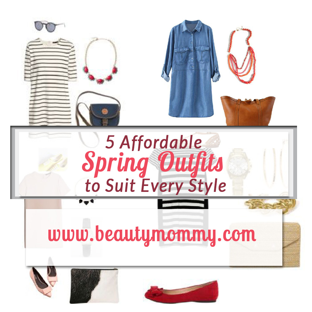 affordable spring outfits