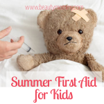Summer First Aid for Kids