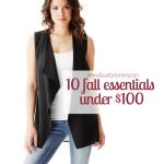 10 Fall Essentials Under $100