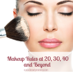 Makeup Rules at 20, 30, 40 and Beyond