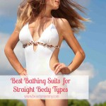 Best Bathing Suits for Straight Body Types