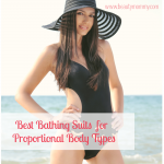 Best Bathing Suits for Proportional Body Types