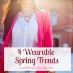 4 Wearable Spring Trends